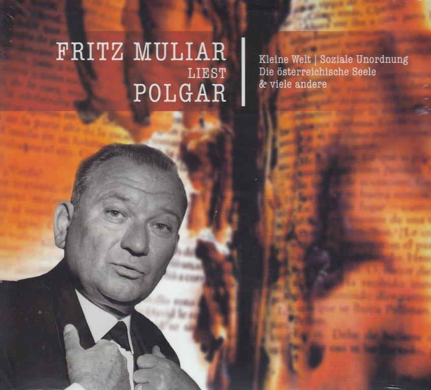 fritz muliar liest alfred polgar *** hörbuch *** neu