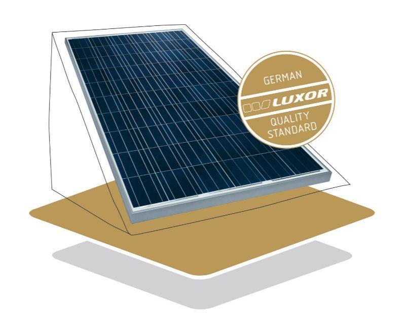luxor 280w secure line m60 280w solarmodul photovoltaikmodul 280 watt glas glas ebay. Black Bedroom Furniture Sets. Home Design Ideas