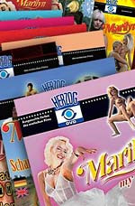 6 DVD Collector´s edition of Marilyn-movies.