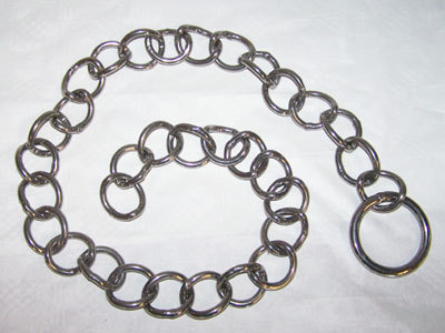 Stainless steel holding chain