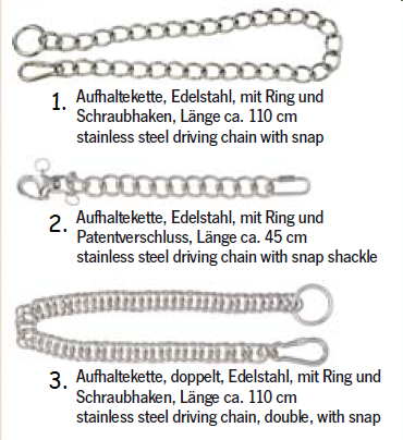 Stainless steel driving chain