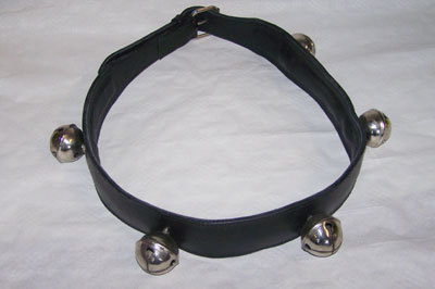 Bells tied / neck collar with bells