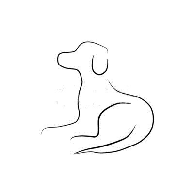 embroidery designs different dog silhouette