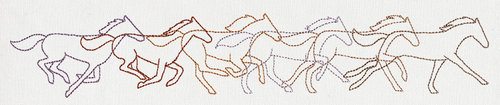 embroidery design Band of Horses