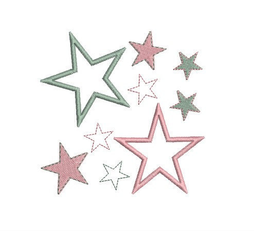 embroidery design Star
