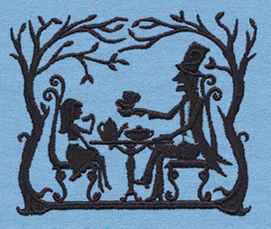 embroidery design Fairytale Shadows