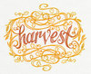embroidery designs Calligraphic Harvest