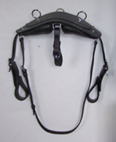 One-piece work harness