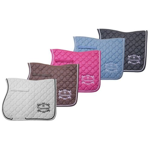 Baroque saddle pad