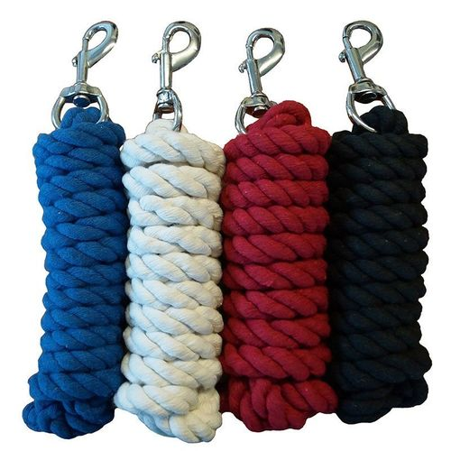 Cotton working rope with snap carabiner