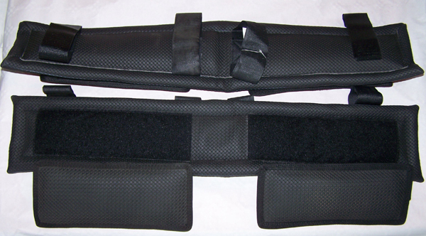Ridgecap saver with removable cushions