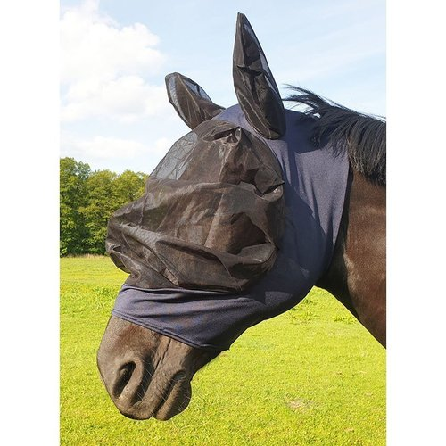 Fly mask especially finely meshed