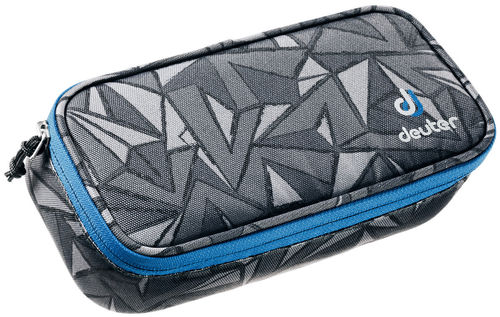 Pencil Case black zigzag Deuter zu Ypsilon und Strike