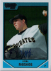 2007 Bowman Chrome Draft Draft Picks #BDPP111 Daniel Moskos AU Pirates!