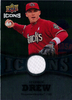 2009 Upper Deck Icons Icons Jerseys #SD Stephen Drew Diamondbacks!