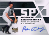 2008 SPx Silver #129 Ross Ohlendorf AU RC Yankees!