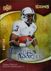 2009 Upper Deck Icons Autographs #127 Derek Pegues AU RC /150 Mississippi State