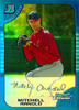 2005 Bowman Chrome Blue Refractors #307 Mitchell Arnold RC /150 Angels!