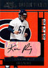 2001 Playoff Contenders #142 Karon Riley AU RC Bears!