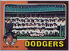 1975 Topps #361 Los Angeles Dodgers CL/Walter Alston MG Team Card NM-MT Vintage