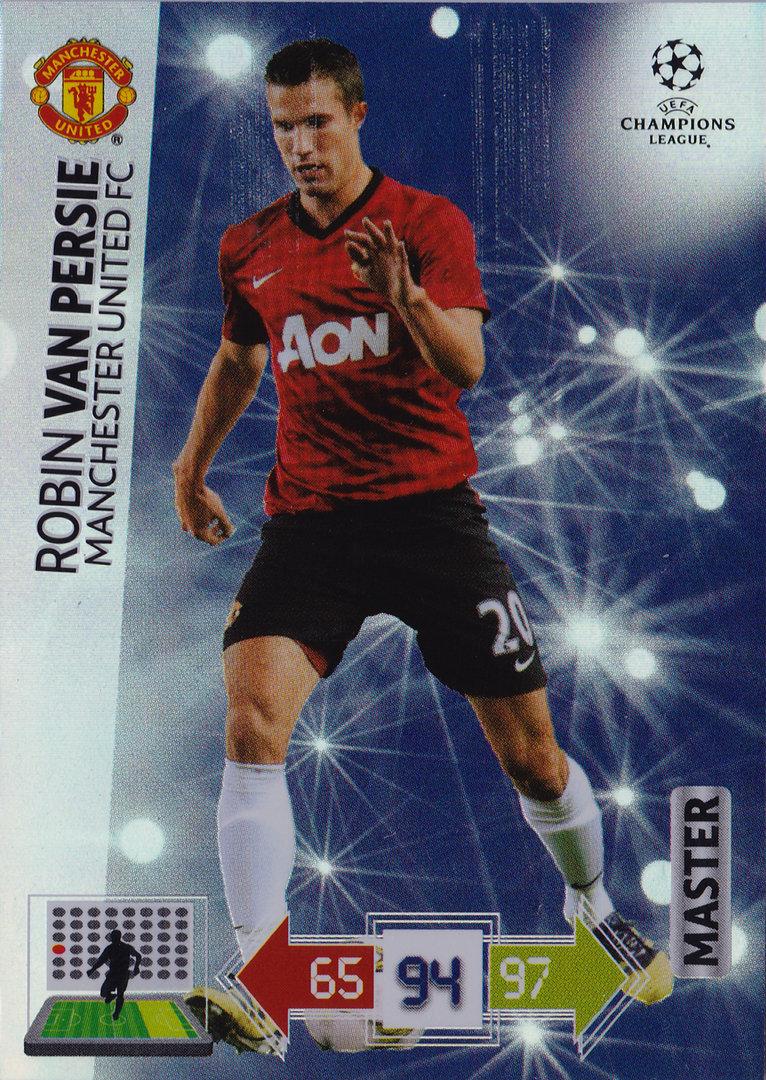 Champions League Adrenalyn XL 2012//2013/Robin Van Persie 12//13/Master