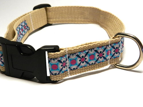 dog collar large - ORNAMENTS - beige