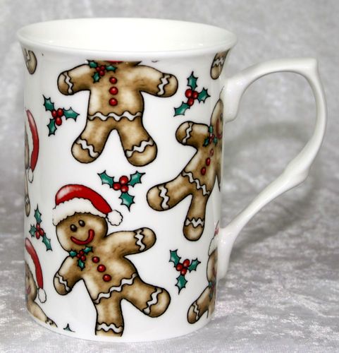 Porzellanbecher Gingerbread Man