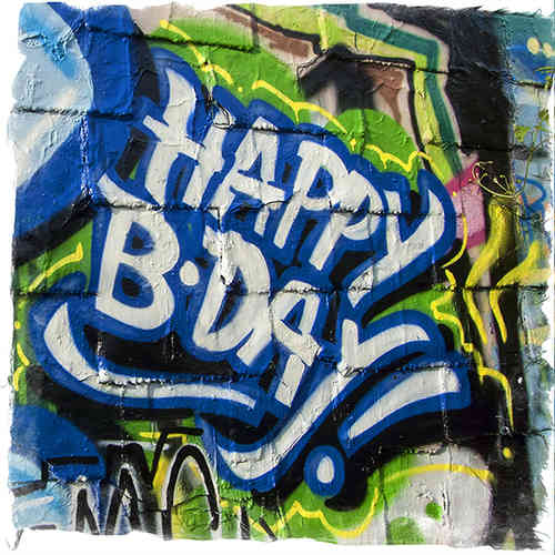 Kölner Graffiti - Happy B-Day