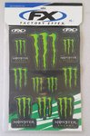 Monster Energy Sticker Set 48x33 cm
