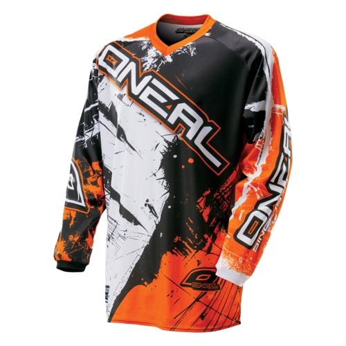 O`NEAL ELEMENT JERSEY SHOCKER BLACK/ORANGE