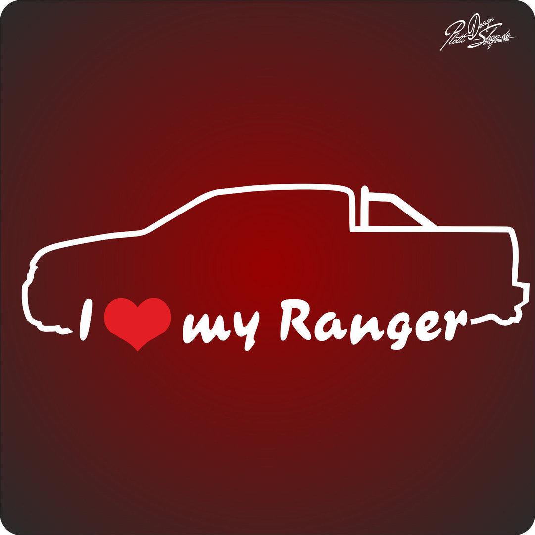 1x Ford Ranger Aufkleber 22cm X66cm Freie Farbwahl 3 Motive Zur Auswahl