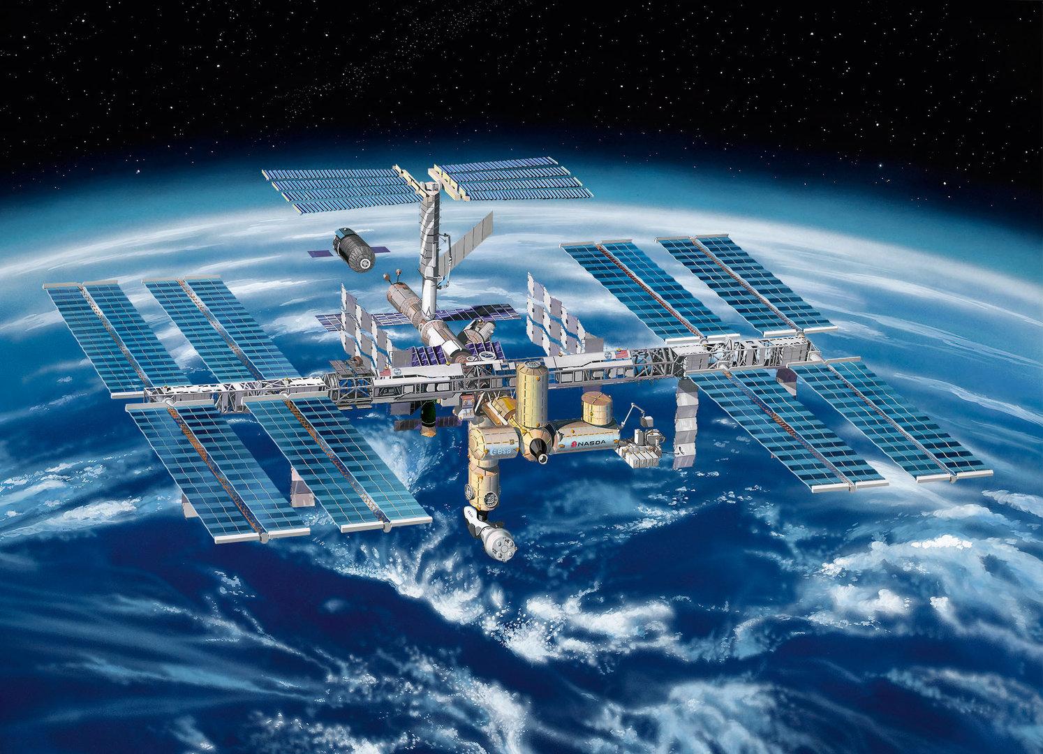 Internationale Raumstation Iss Revell 1 144