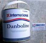 International bilge paint Danboline colour grey 100, 2,5 L