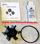 Johnson Pump Impeller F4, Impeller Artikelnummer 09-824P