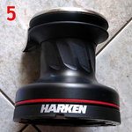 Harken Winches Aluminum Radial® Self-Tailing 20STA