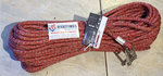 FSE 3S SIRIUS 500 rope, eye splice with stainless steel shackles color: red 10mm x 35m
