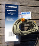 Lowrance ETHEXT-25YL 7.58 m (25 ft) ethernet cable