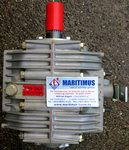 ZF25M Vertical offset, direct mount marine transmission, reduction 2,74