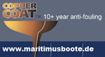 Coppercoat Copper Antifouling 2-Components, 1L, Long-term antifouling 10 years