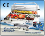 "Magma Marine Monterey Gas Grill with Infra Red Screens, 12""x24"" (30x61cm) + 5,5""x24"" (14x61cm.)"