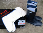 Perfect Wellies XM New Cruising size 39 (UK 5 US 5.5) incl. Separate Sheepskin Boot Socks