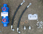 Oil Cooler Kit TM93, TM485, TM 880, TM170, rygge tannhjul Techno