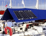 SunWare solar system Yacht 2015 - circumnavigation - blue water, charge batteries approx 80AH daily