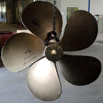 "Propellers for yacht Azimut 80 - Propeller Class ""S"" ISO484 standard, Shaft diameter 90mm"