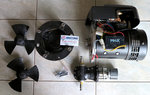 Maxpower THRUSTER, CT125 ELEC DUO COMPO, 24V, Ø185