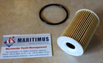 Williams Jettender oil Filter element, Weber 101109 / Williams 02-0012