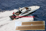 Besenzoni, teck for Gangway, SUNSEEKER 64