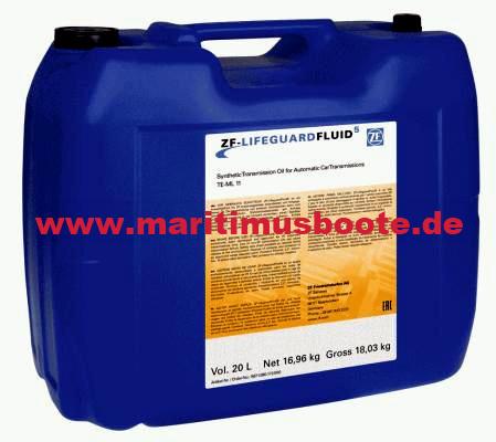Getriebeöl 80W90 1 Liter für MerCruiser Bravo Two