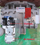 ZF ELECTR. ACTUATOR EB 31 - SUPER SHIFT + KIT ELECTRIC VALVES 24V  ON/OFF, 3217108062 + 3217199031