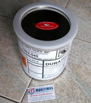Duratec VINYL ESTER BLACK HIGH GLOSS TOPCOAT 1902-045, 1 US Gallone